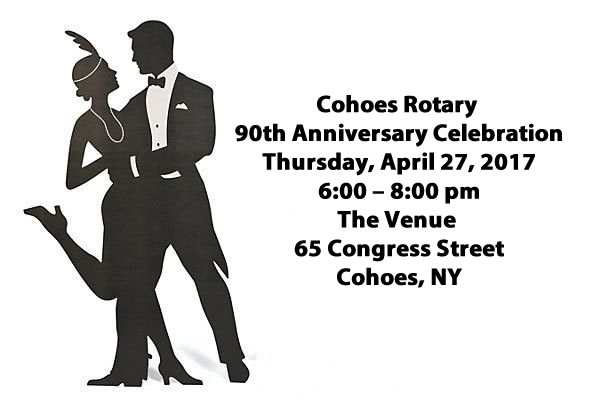 Cohoes Rotary 90th Anniversary Celebration